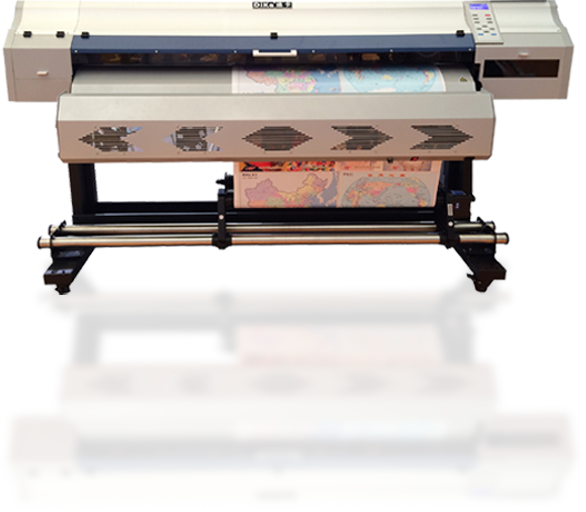 DK-1608s(Most stable eco-solvent printer)